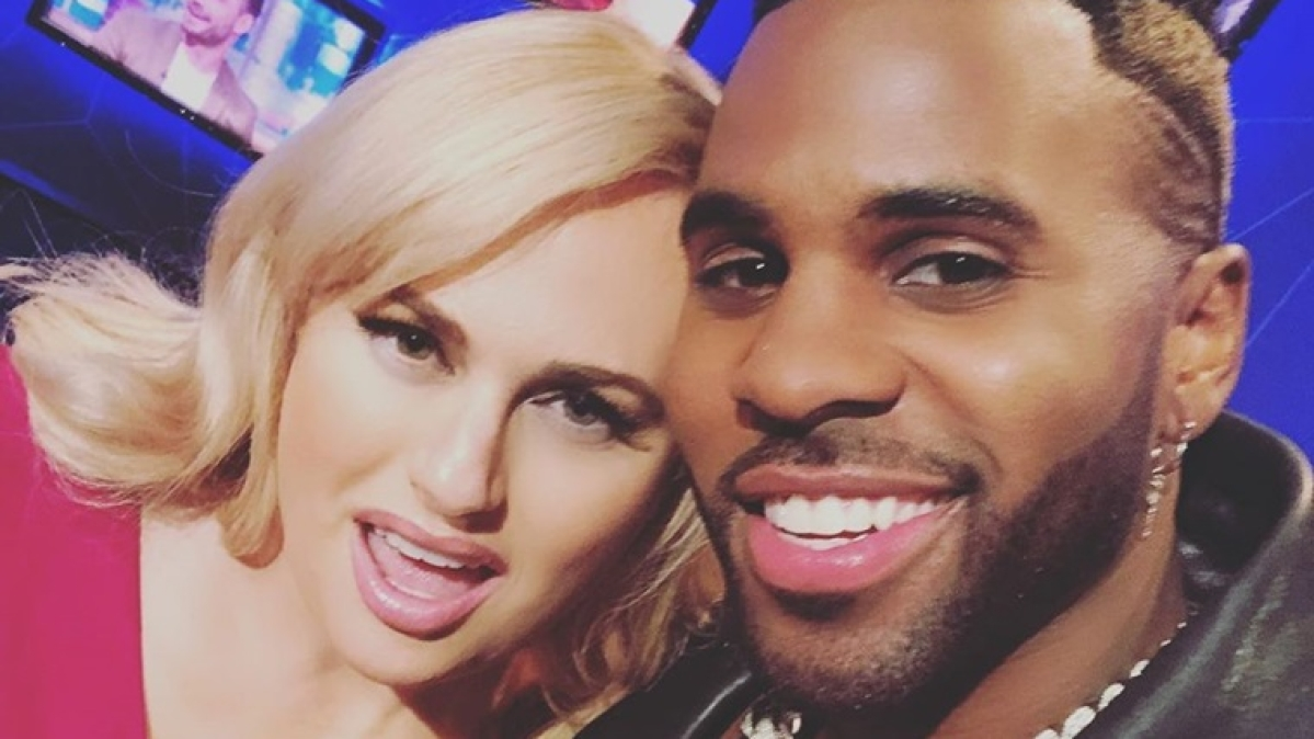 Rebel Wilson recalls licking Jason Derulo the entire day for 'Cats' scene
