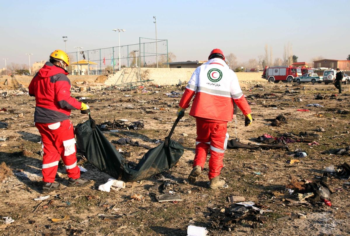 Iran makes arrests over Ukrainian plane crash