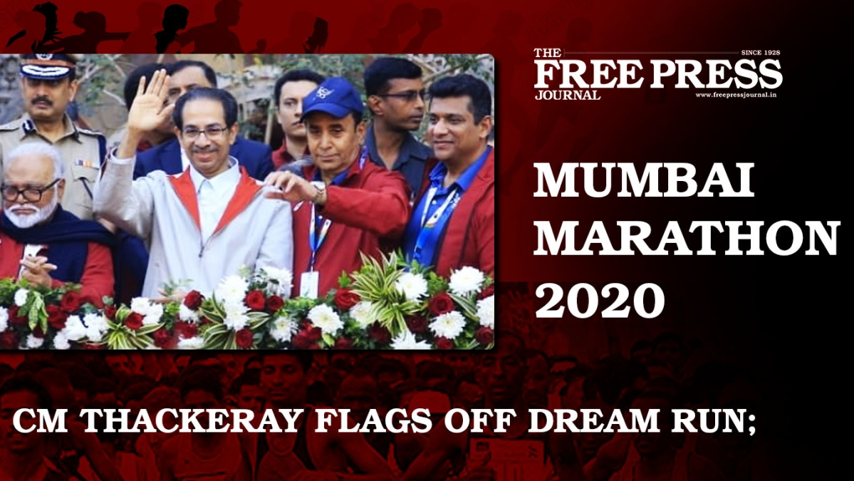 CM Uddhav Thackeray flags off Dream Run; Kiren Rijiju, Aaditya Thackeray, encourage runners