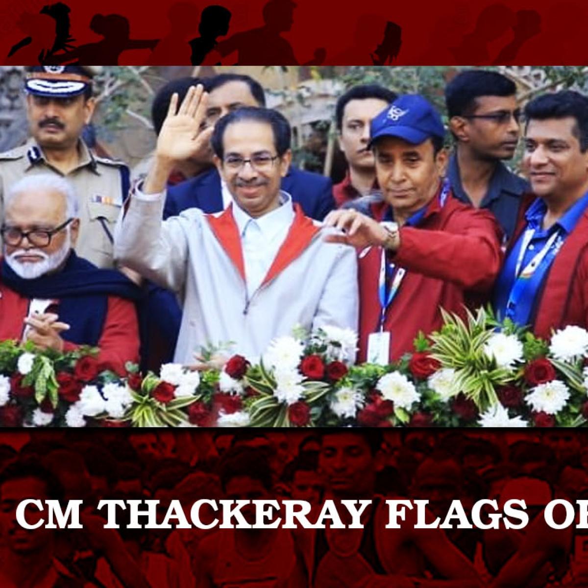 CM Uddhav Thackeray flags off Dream Run; Kiren Rijiju, Aaditya Thackeray, encourage runners