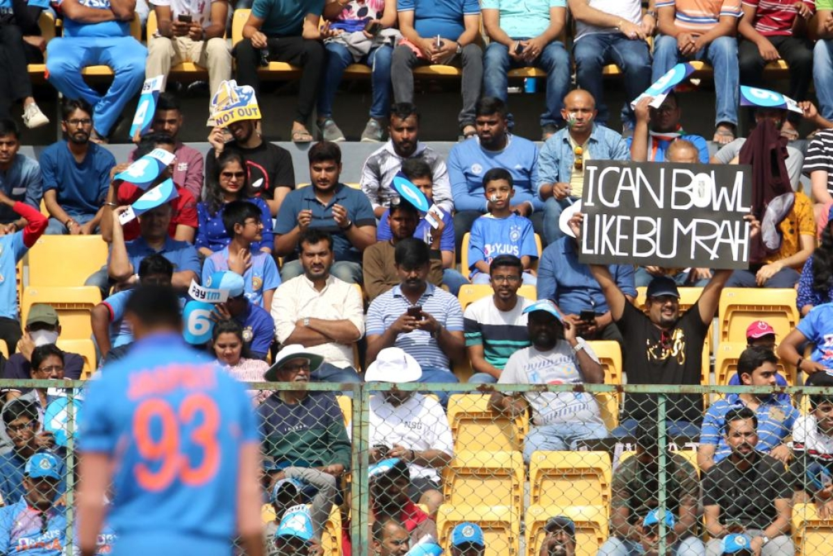 'We'd like to see video proof': ICC trolls fan claiming to be as good as Jasprit Bumrah