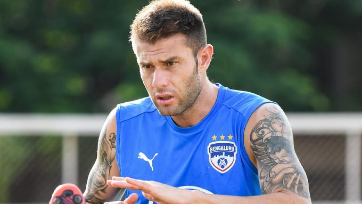 Spanish defender Juanan Gonzalez
