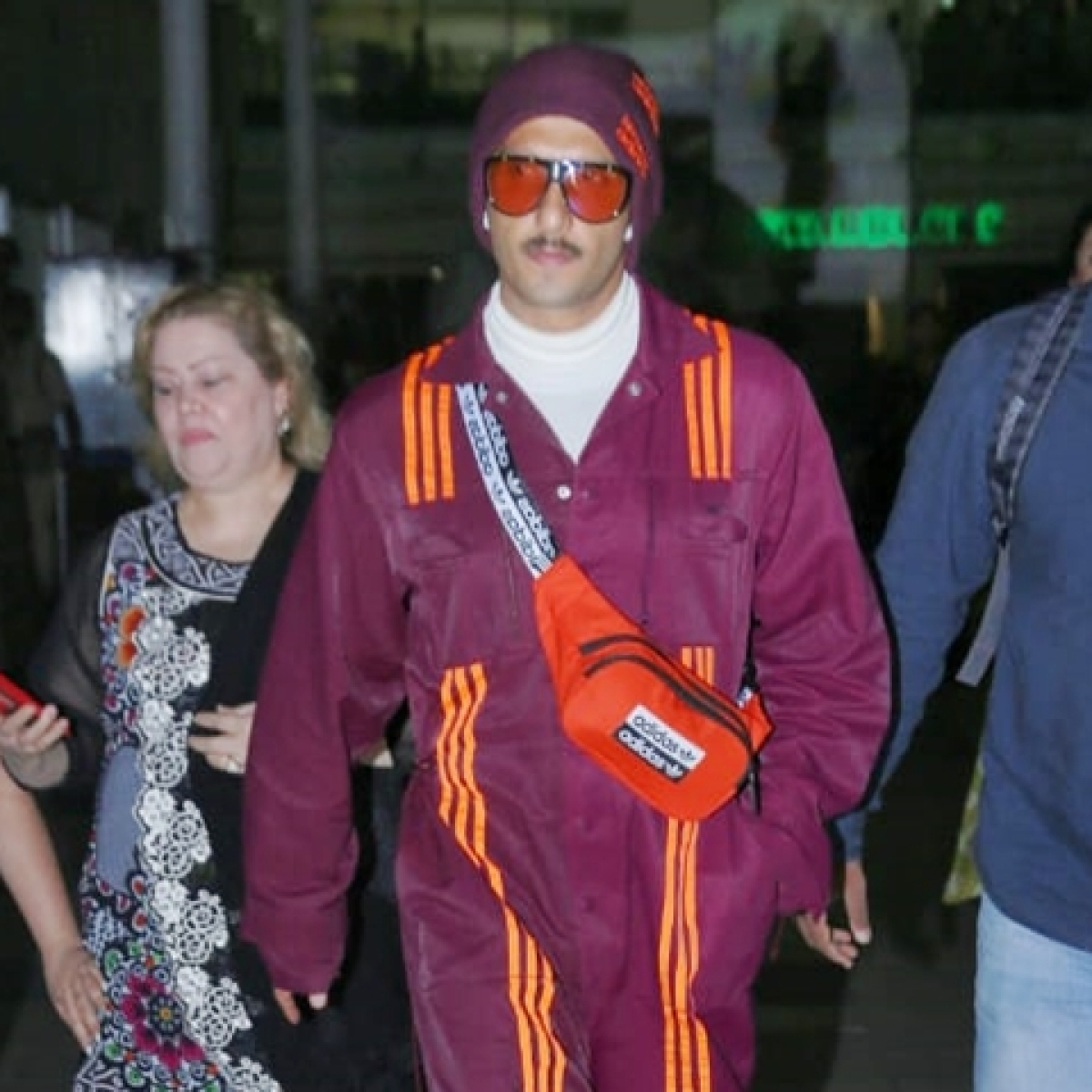 Ranveer Singh's airport look featuring Beyonce's adidas x IVY PARK collection costs just Rs 32K