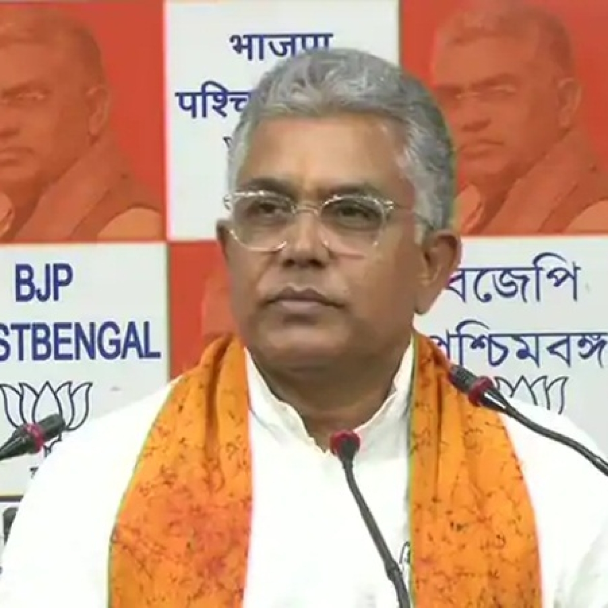 West Bengal BJP chief Dilip Ghosh turns away ambulance which tried to make way during rally