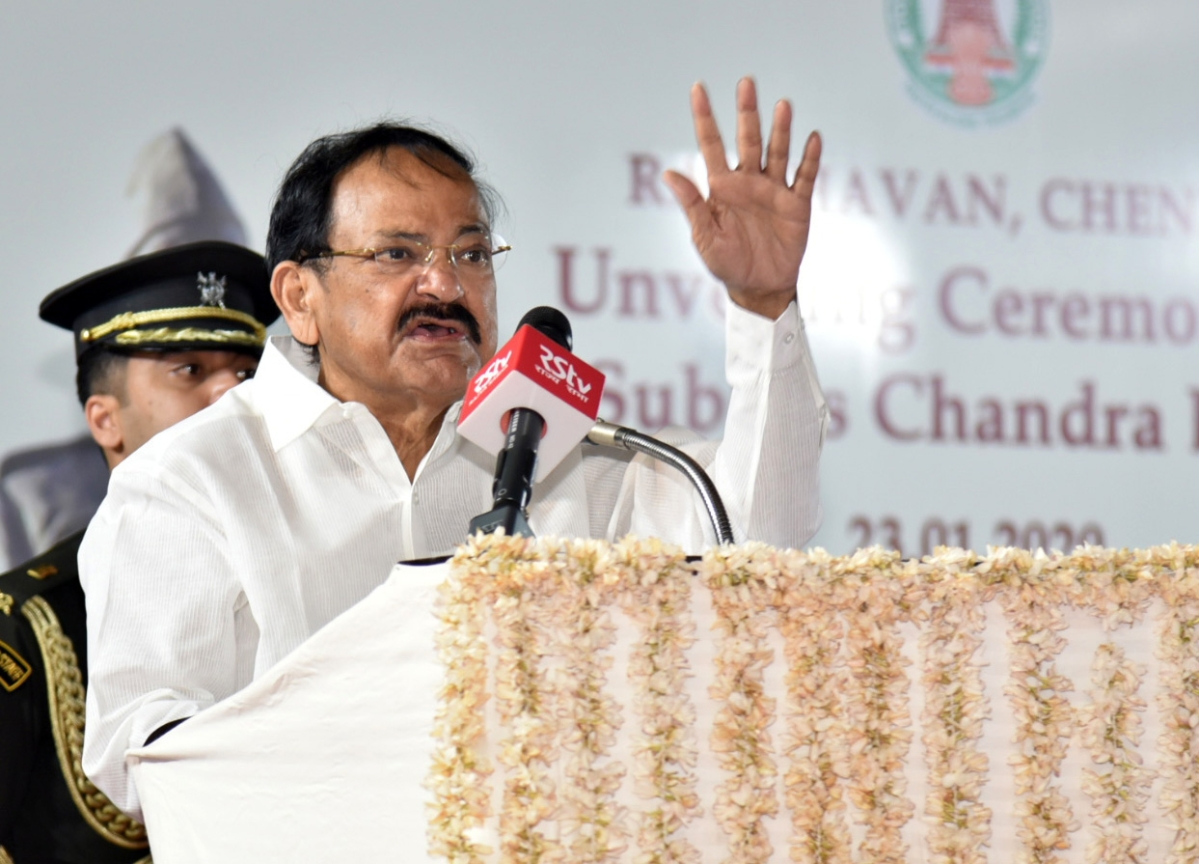'No religious congregations should be allowed': VP M Venkaiah Naidu tells Governors and Lt Governors