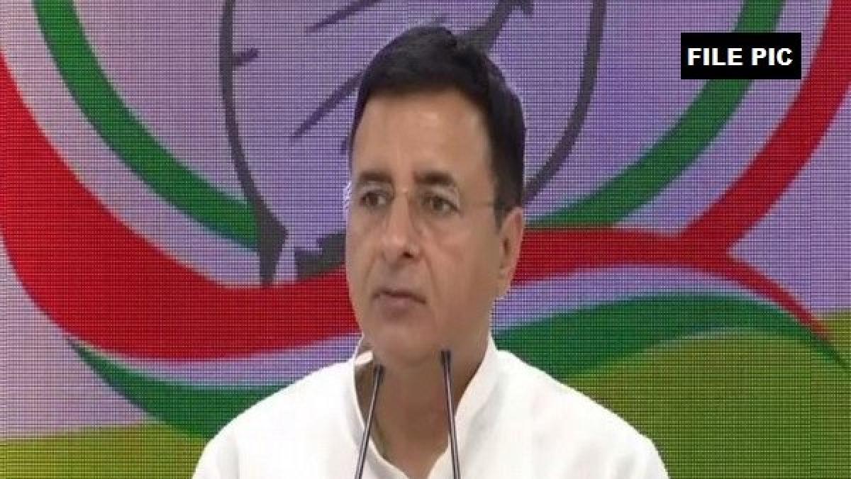 Congress spokesmen Randeep Singh Surjewala questions Rs 45,000-crore submarine contract to Adani