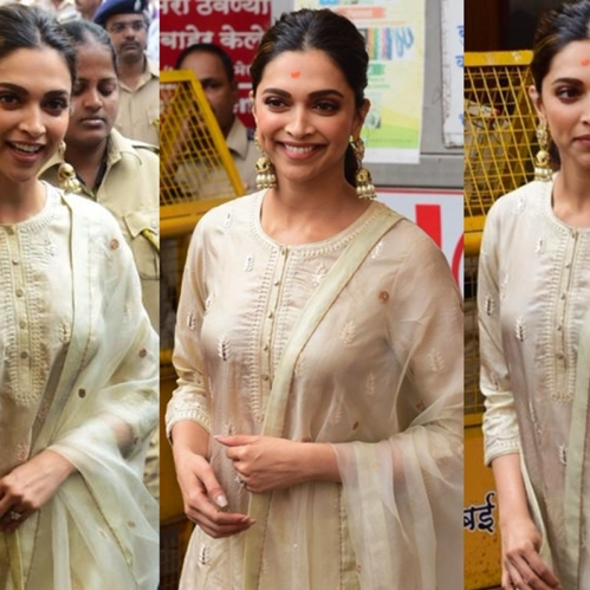 Deepika Padukone visits Siddhivinayak Temple on 'Chhapaak' release day