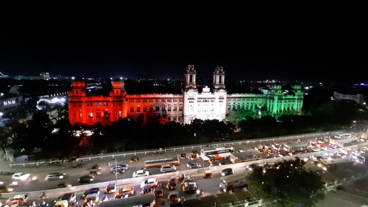 In Pics: Railways Stations and headquarters lit up in tricolour for 71st Republic Day celebrations