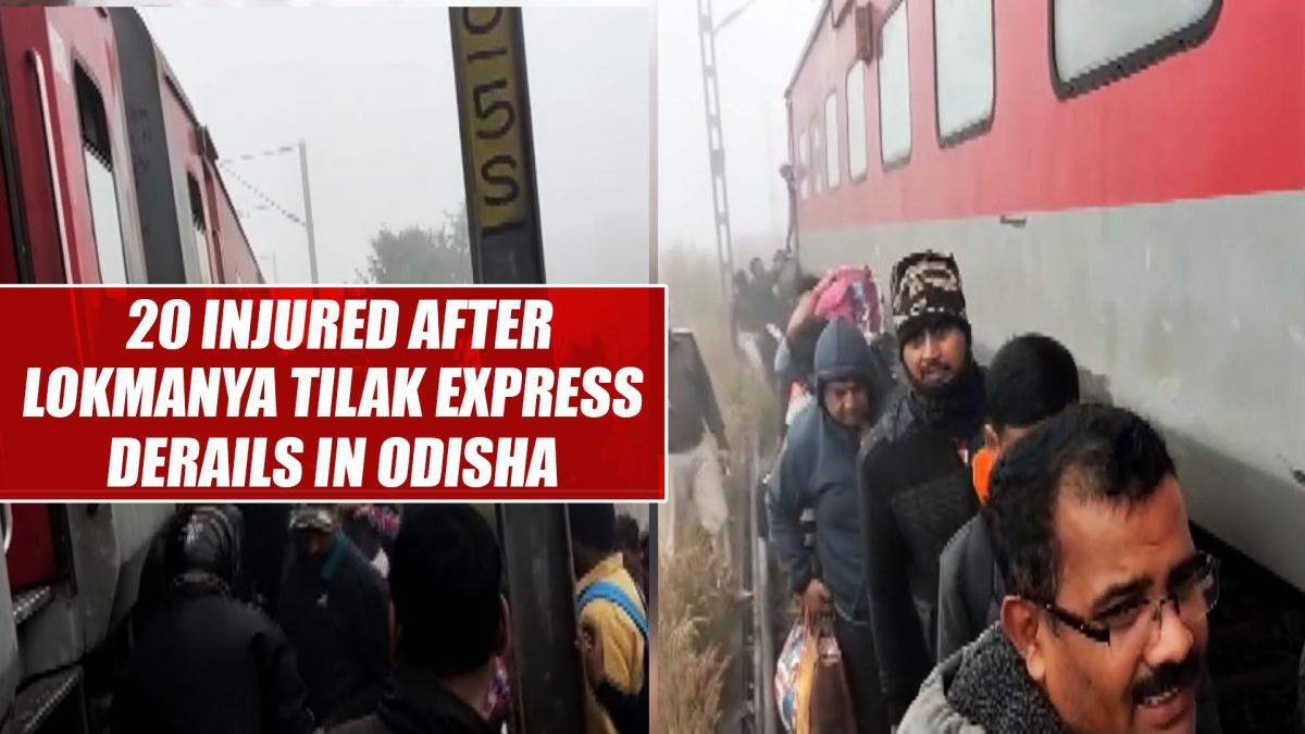 20 injured after Lokmanya Tilak Express derails in Odisha's Cuttack