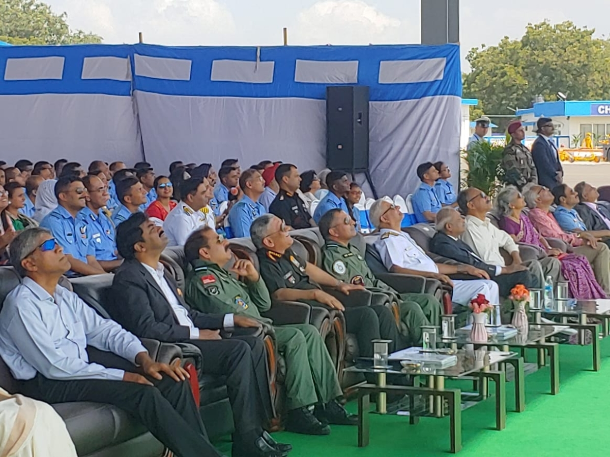 Air Force Station Thanjavur inducts 222 Squadron