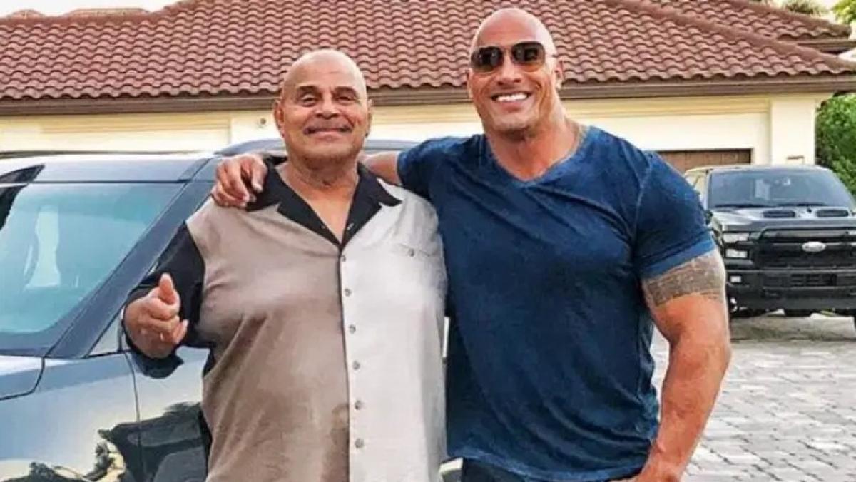 Dwayne Jonhson's father and famous wrestler Rocky Jonhson dies at 75