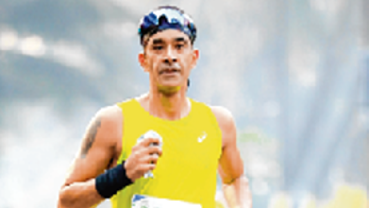 ASICS Running Club Coach Girish Bindra