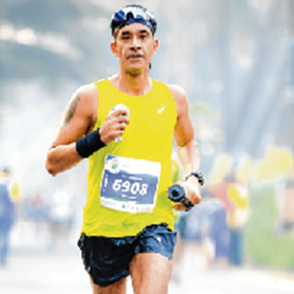 How to maintain an efficient running style with important postures for Mumbai Marathon