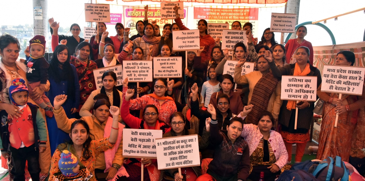 Bhopal: 91 women fail to get appointment despite making it to PSC merit list