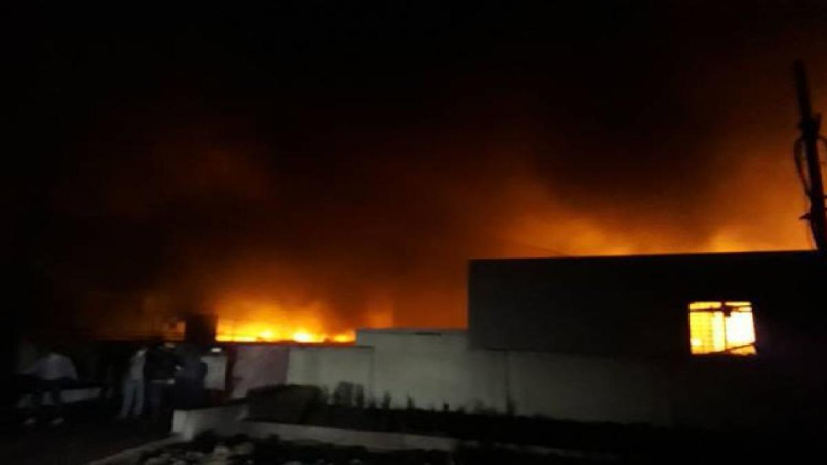 Eight dead in Palghar chemical factory blast