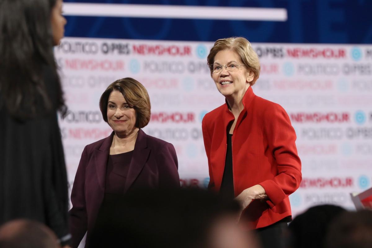 NYT endorses Warren, Klobuchar for president