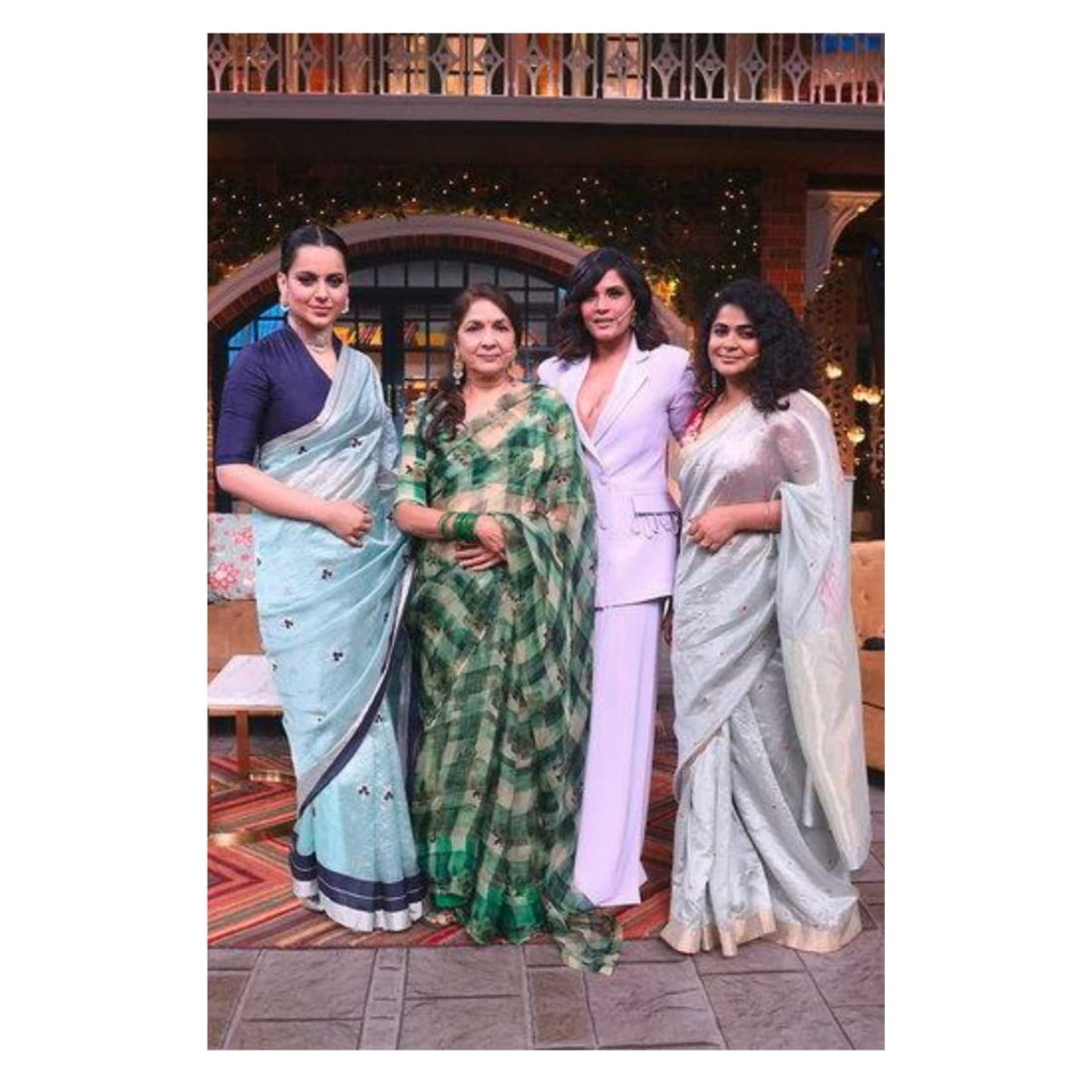 Kangana Ranaut takes Panga with Kapil Sharma