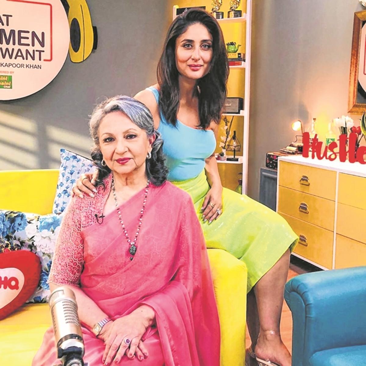 Kareena Kapoor and Sharmila Tagore two divas, two eras