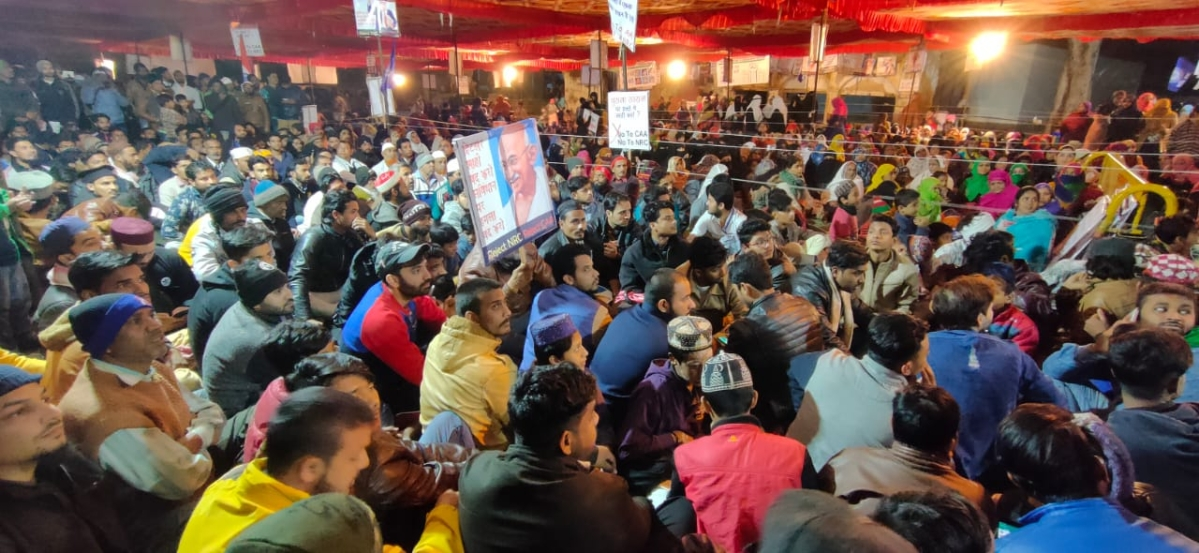 Indore: Dalits come in support for CAA protest, police alert