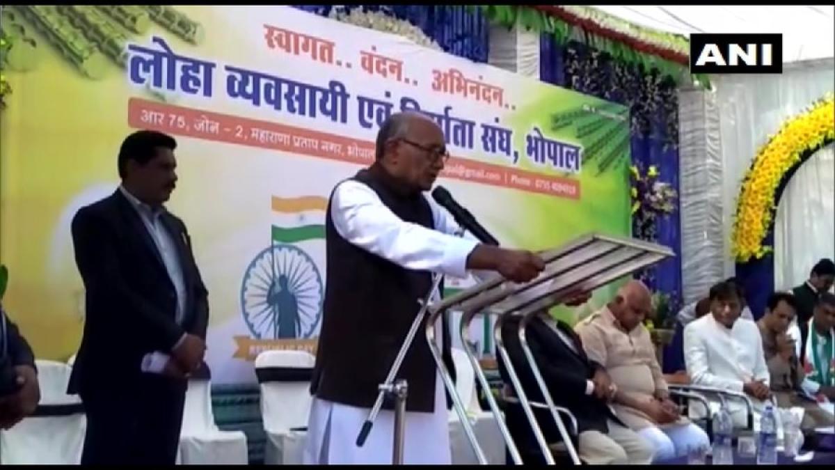 'If govt can grant citizenship to Pak Muslim, why is CAA needed?': Congress' Digvijay Singh on Adnan Sami's Padma Shri