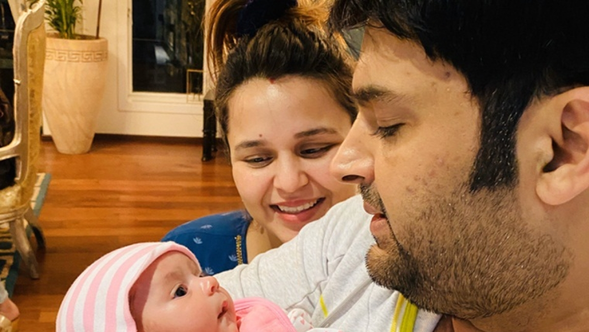 Awe-dorable: Kapil Sharma shares first pictures of his 'piece of heart' Anayra