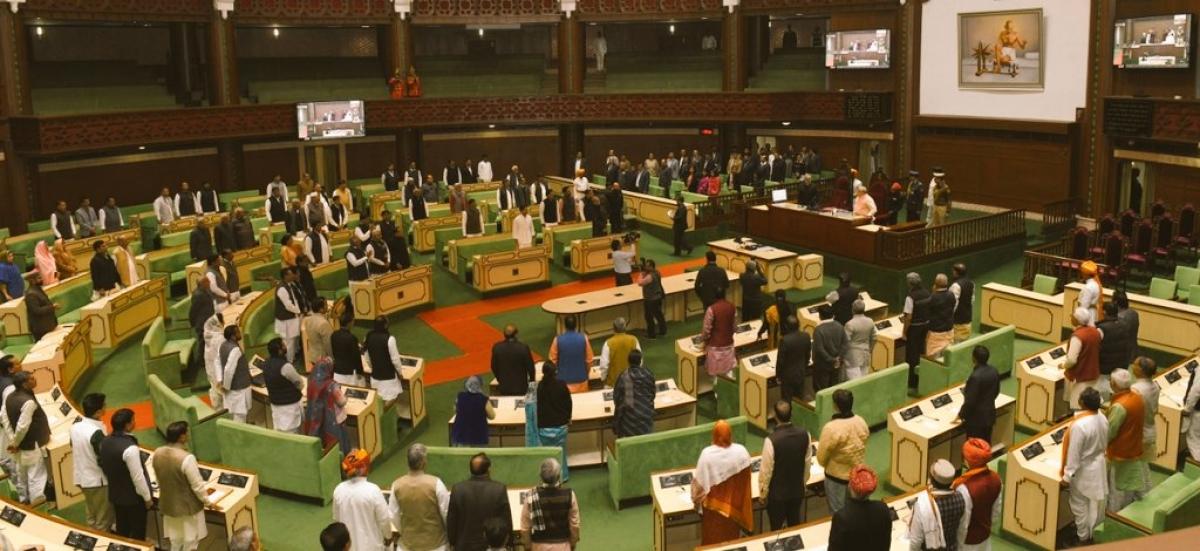 Budget session, Rajasthan