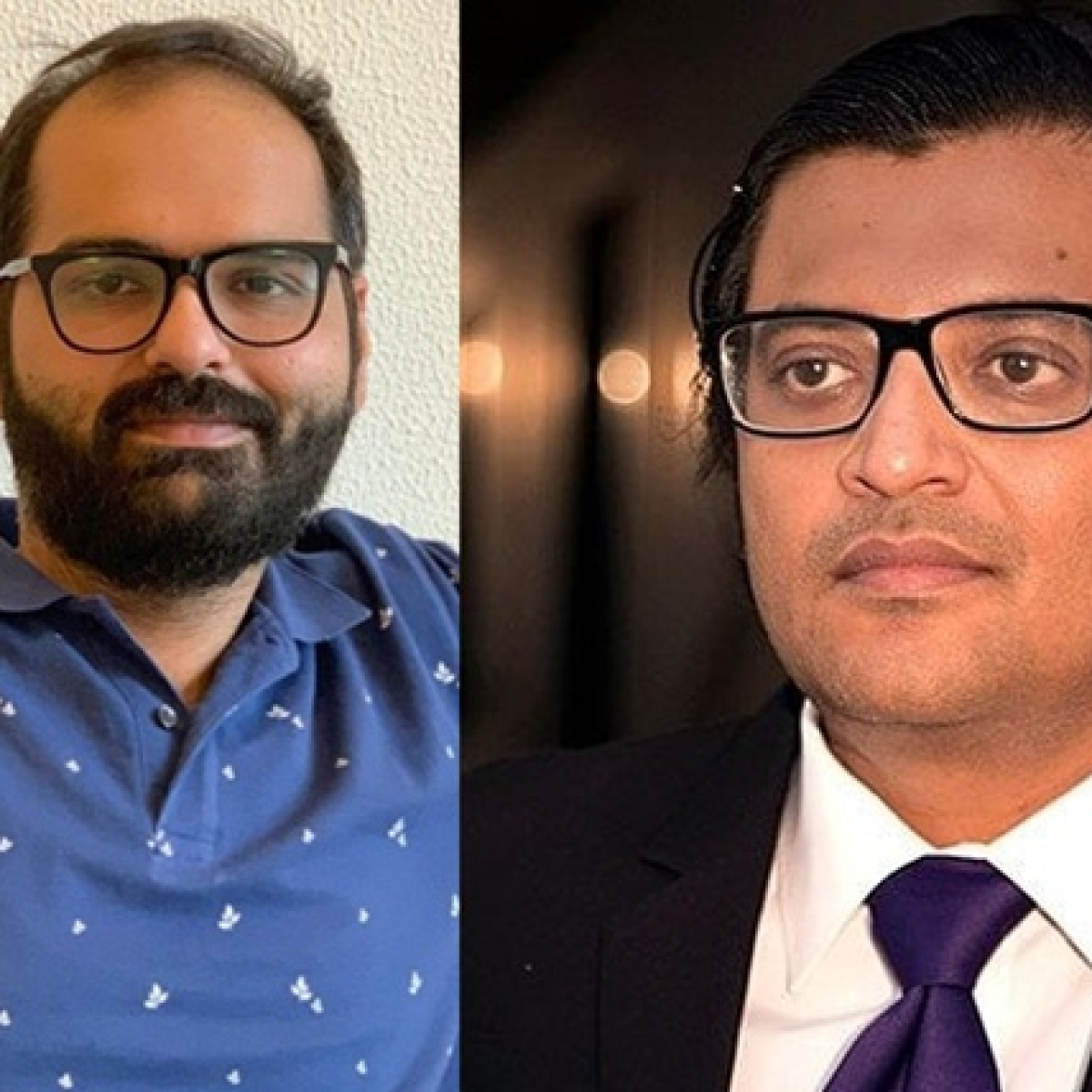'Are you coward or a nationalist?': Kunal Kamra heckles Arnab Goswami on a flight
