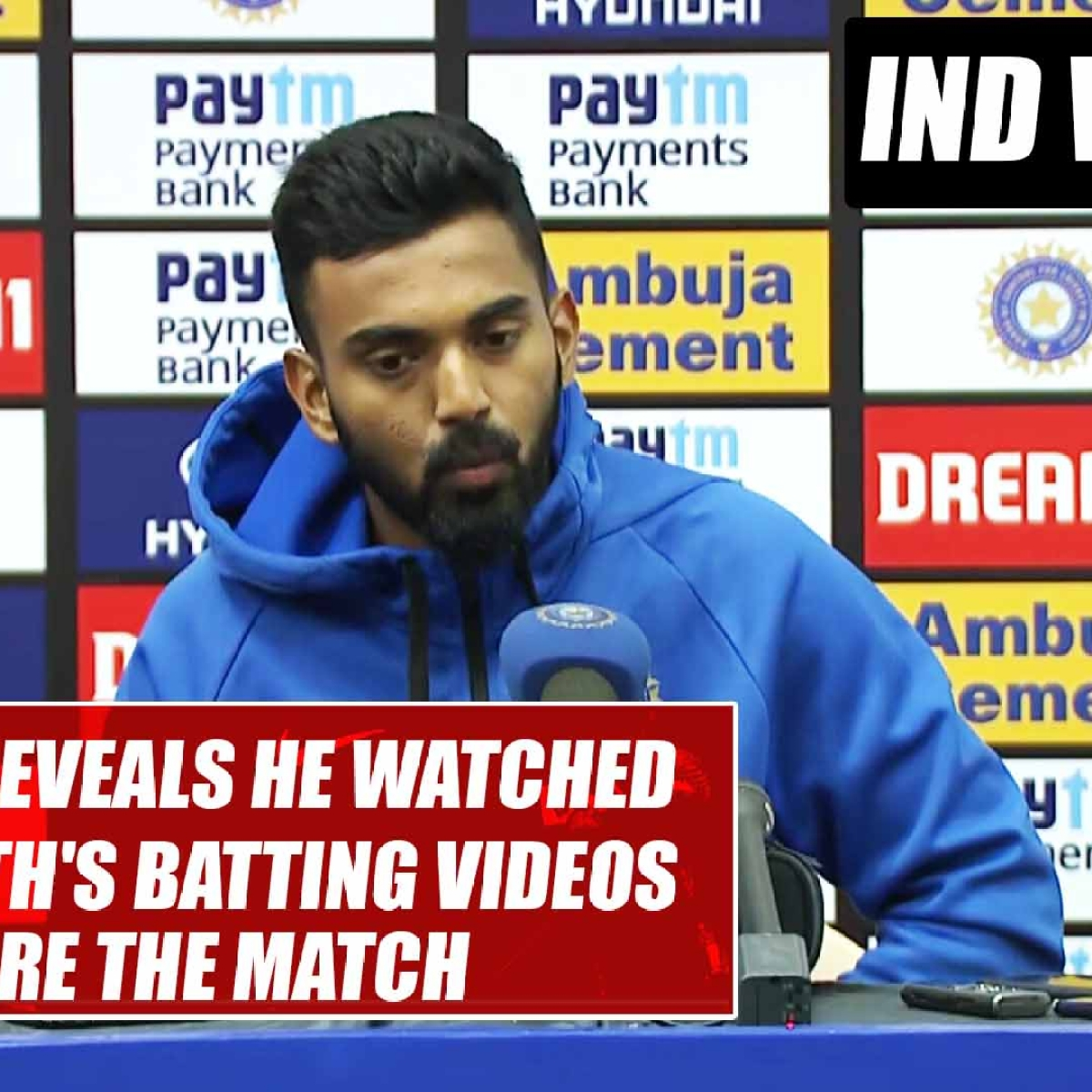 IND vs AUS: KL Rahul reveals he watched Steve Smith's batting videos before the match