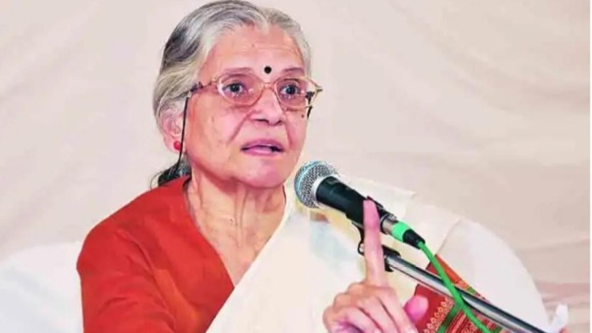Veteran social activist Vidya Bal dead