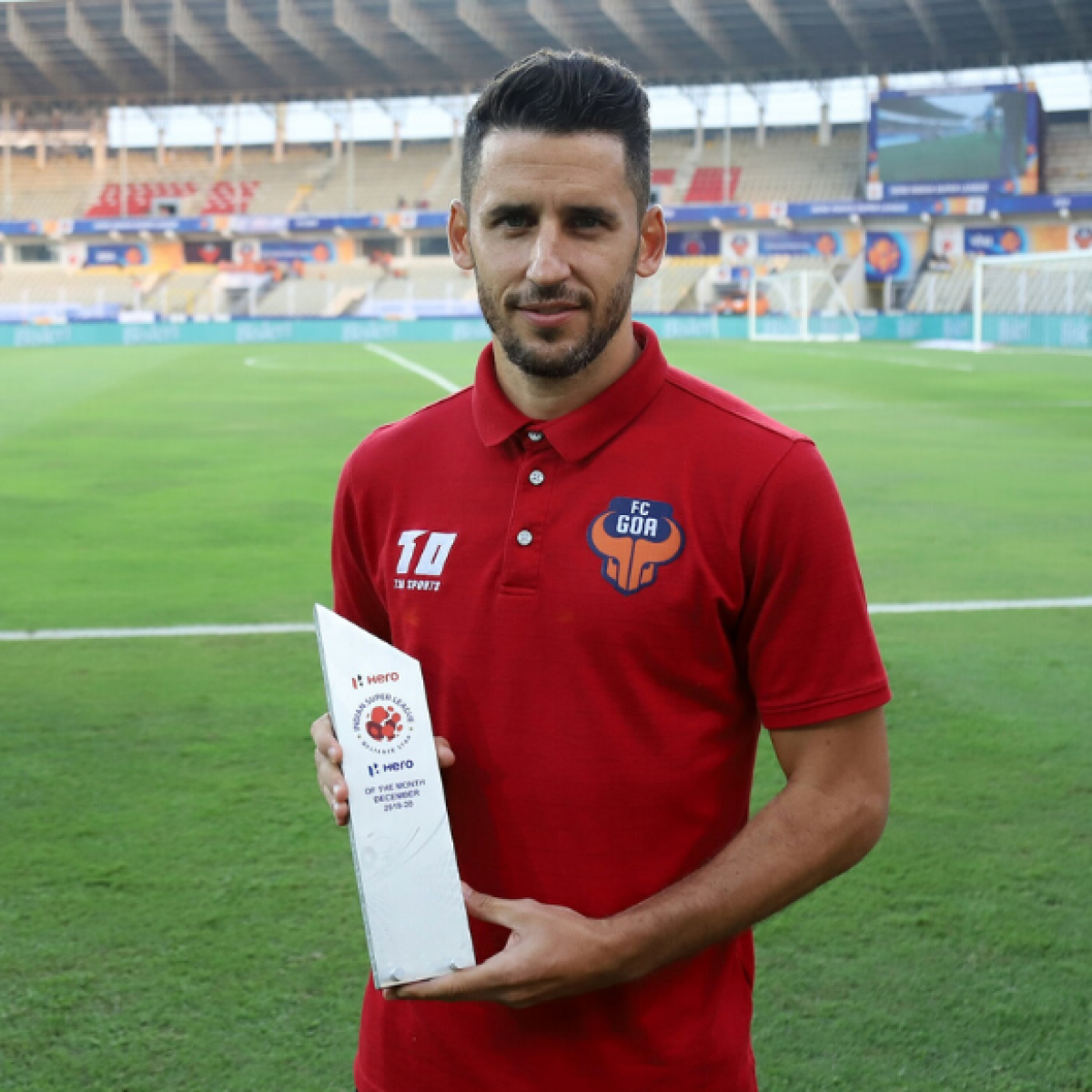 FC Goa's Ferran Corominas wins ISL Hero of the Month Award for December 2019