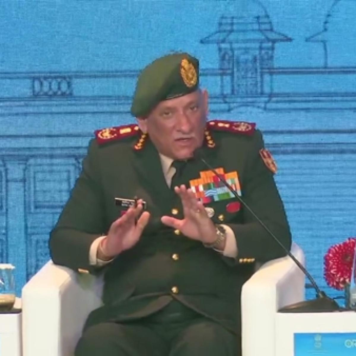 States sponsoring terrorism must be taken to task: Chief of Defence Staff Gen Bipin Rawat