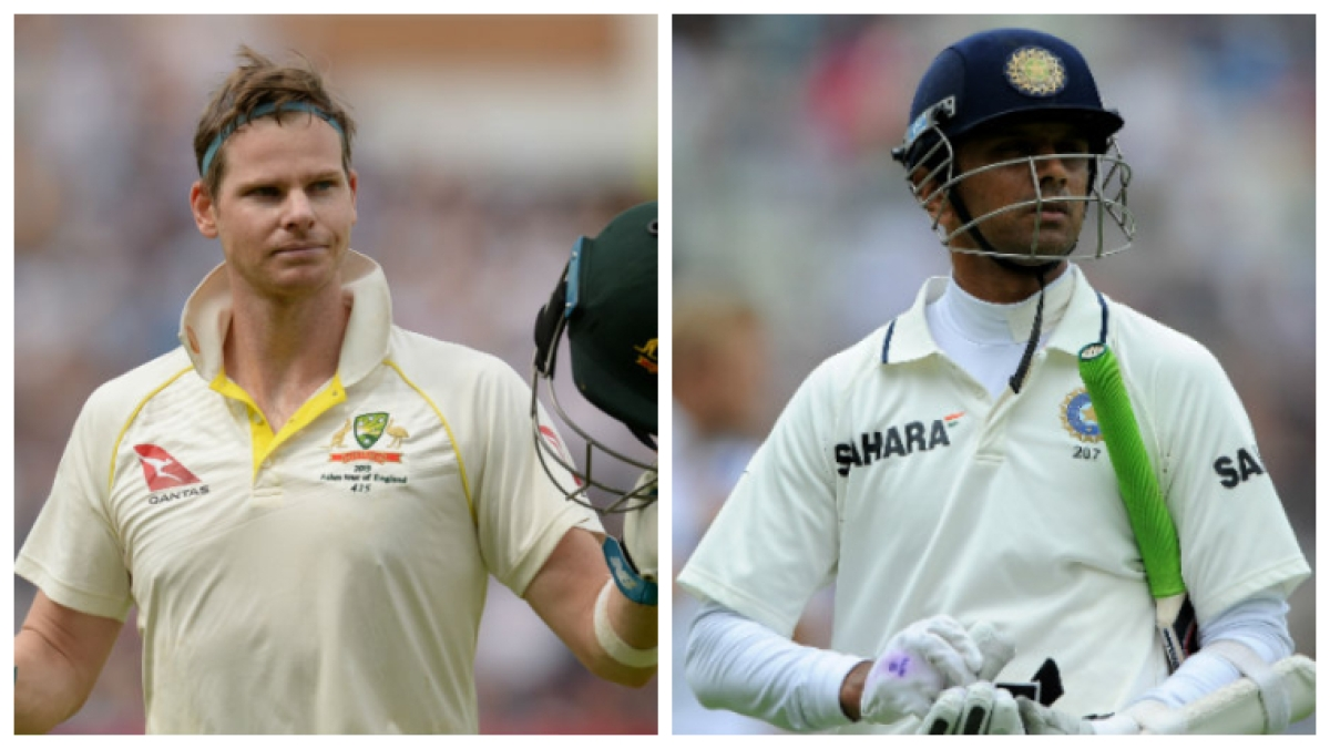 Steve Smith's defiant dot ball run reminds people of The Wall Rahul Dravid