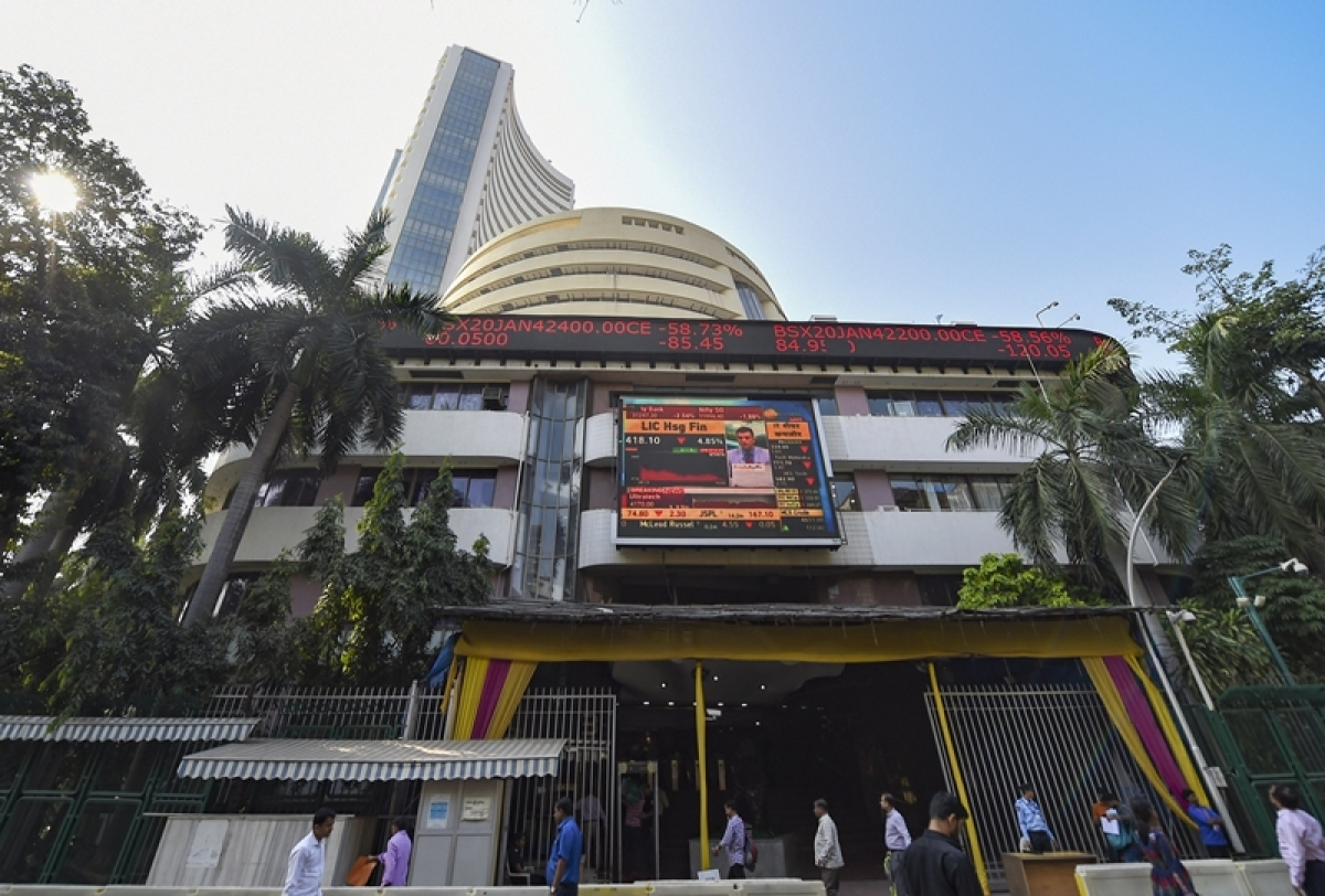 Sensex drops over 150 pts; Nifty slips below 12,100