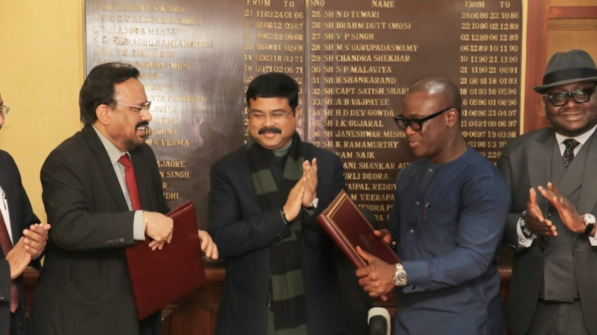 IndianOil signs MoU with Ghana's National Petroleum Authority