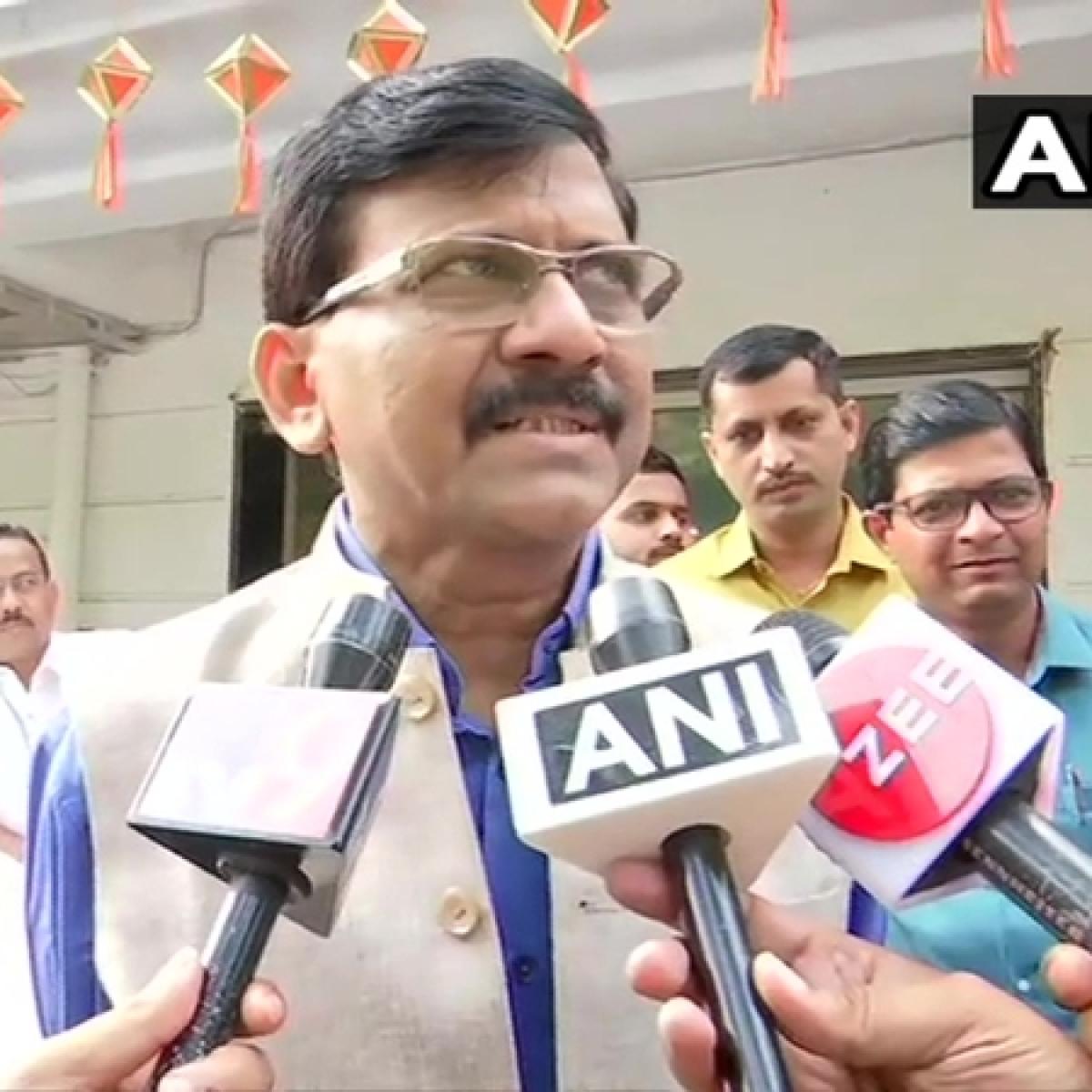 Chhatrapati Shivaji's descendants should clarify if they like Modi being compared to him: Sanjay Raut