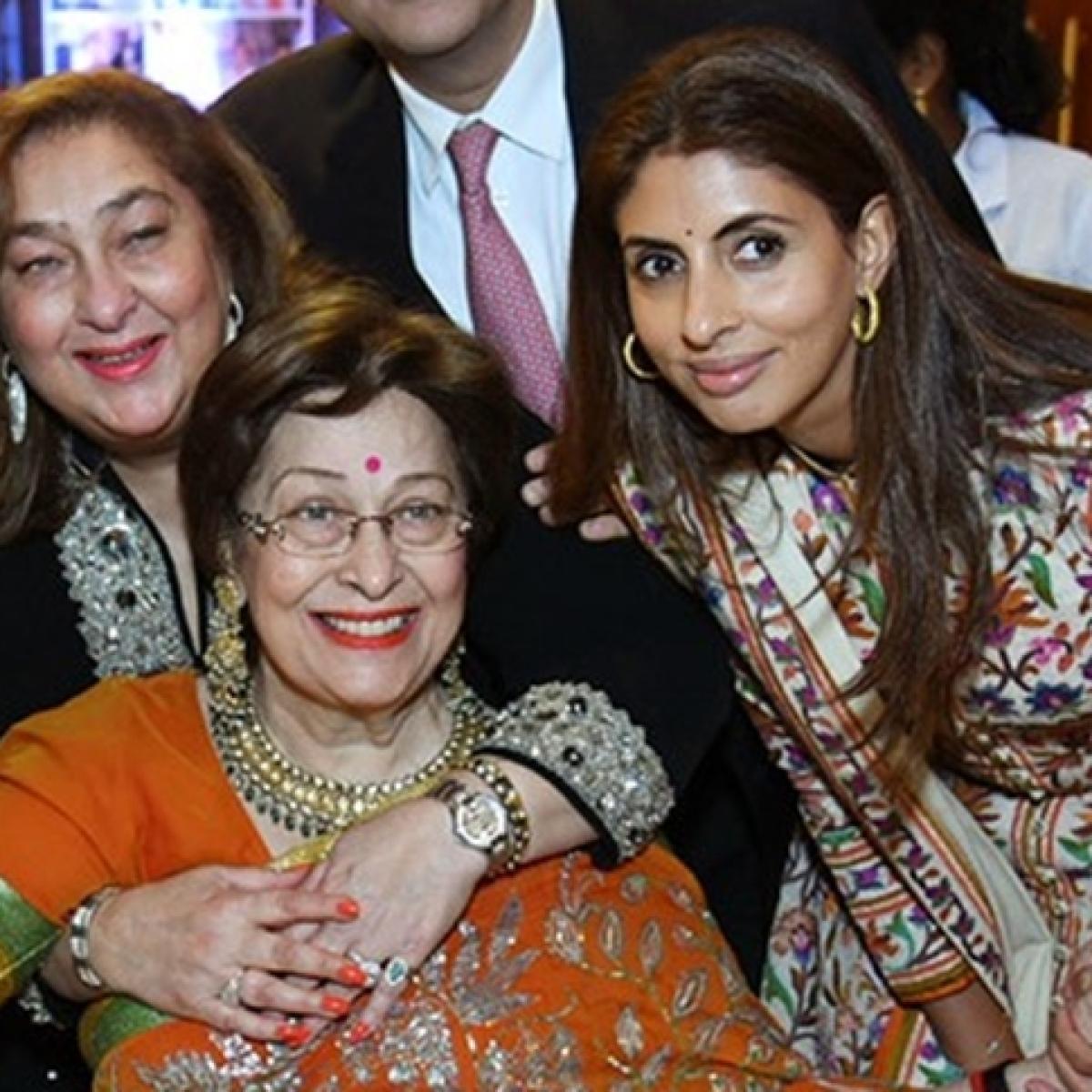 Shweta Bachchan's mother-in-law Ritu Nanda passes away