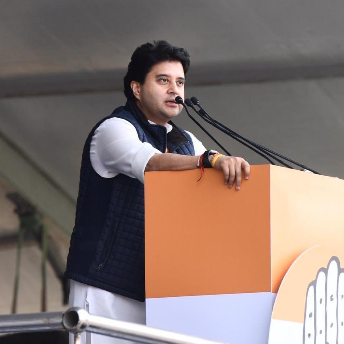 Bhopal: Jyotiraditya Scindia to go to RS, Nath's man to become PCC head