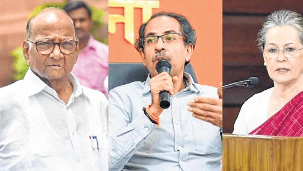 Sharad Pawar/Uddhav Thackeray/ Sonia Gandhi