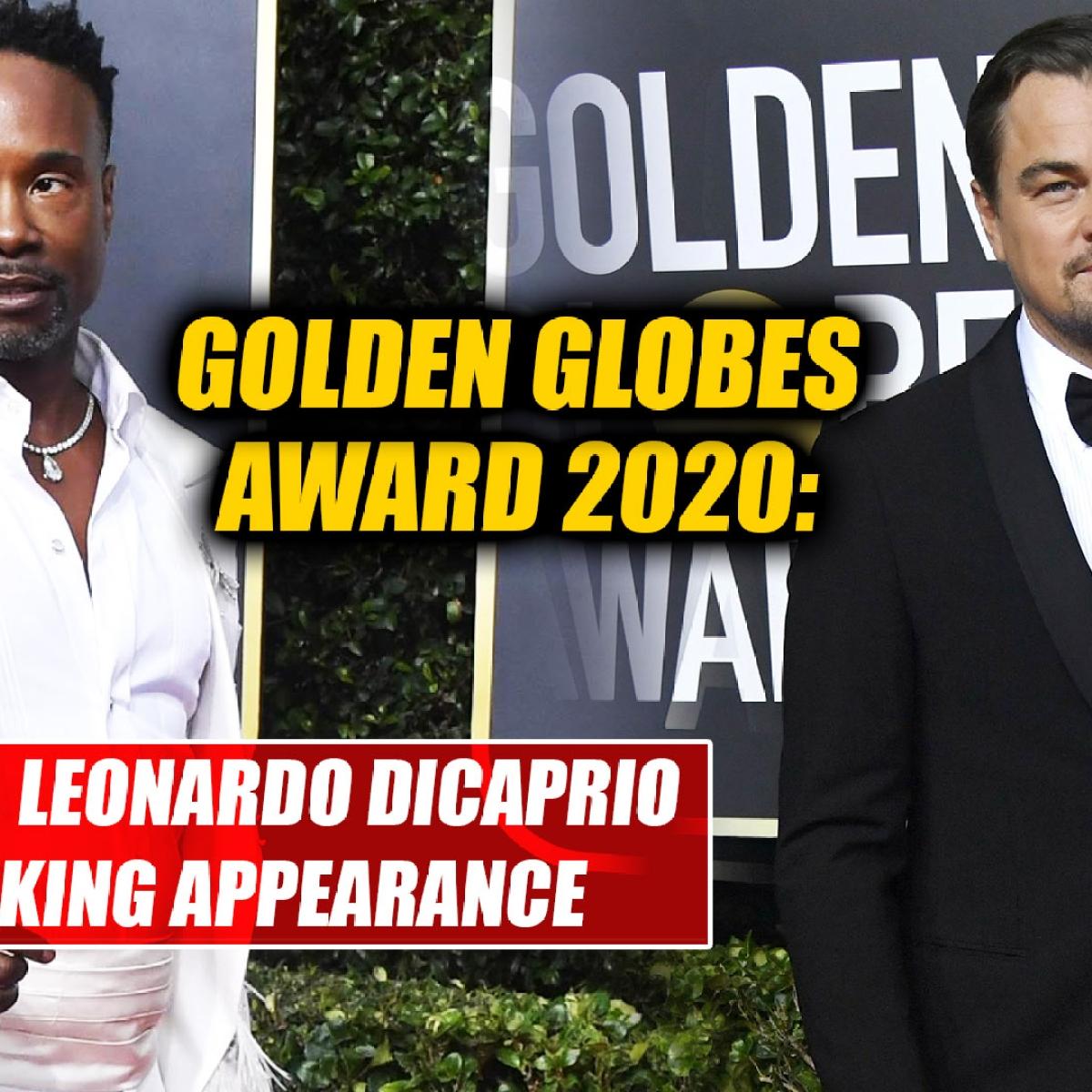 Golden Globes 2020: Billy Porter, Leonardo DiCaprio make striking appearance