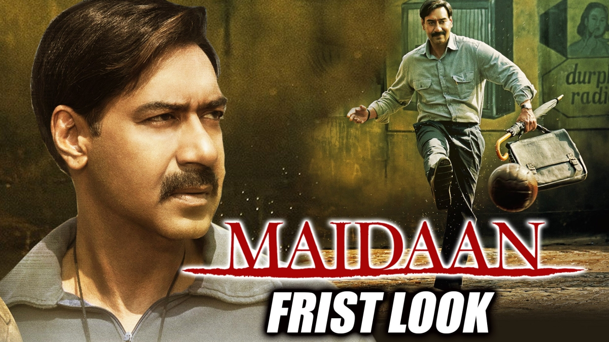 Maidaan: Ajay Devgn shares first looks from sports drama, biopic of legendary coach Syed Abdul Rahim