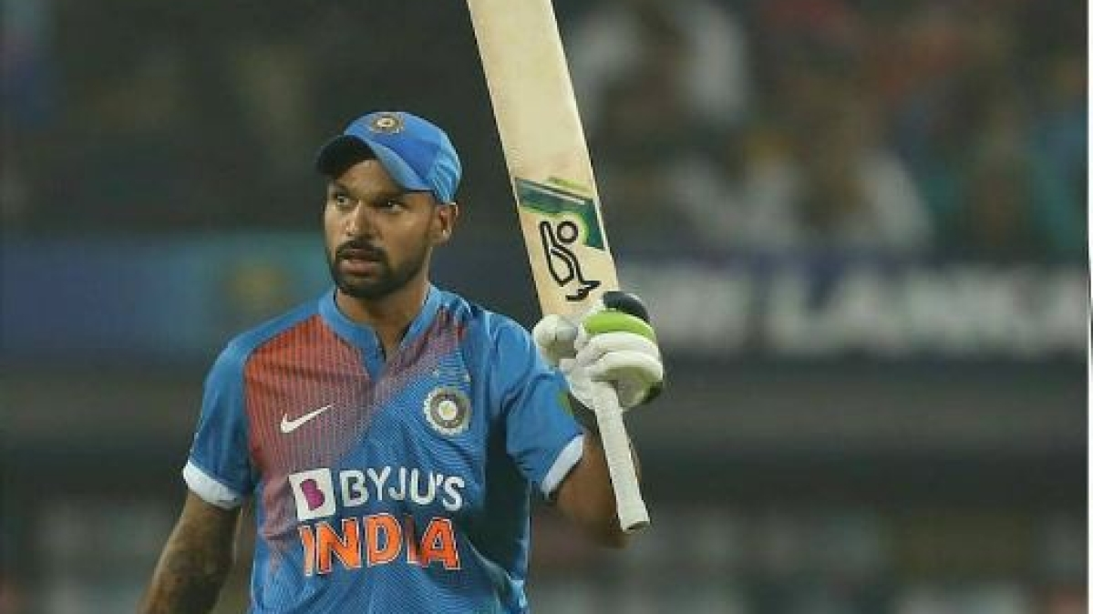 Shikhar Dhawan scored 74 off 91 balls against Australia in the first ODI at Wankhede.
