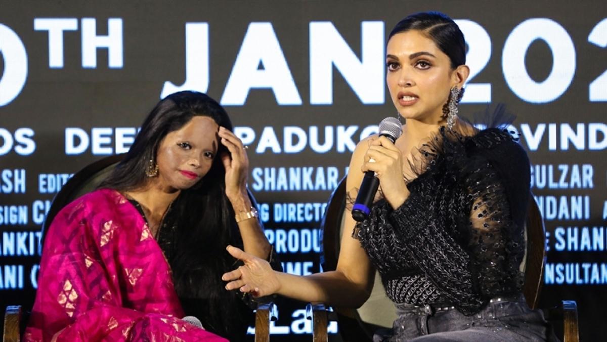 Deepika Padukone with Laxmi Agarwal
