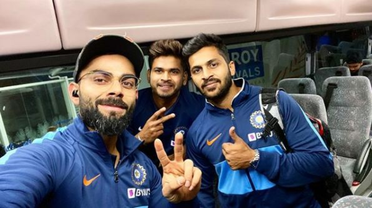 Touchdown in Auckland: Virat Kohli and team begin their New Zealand tour with selfie