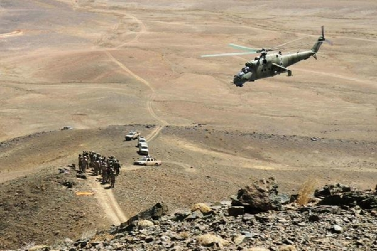 Afghanistan: 2 military personnel killed in chopper crash in Farah province
