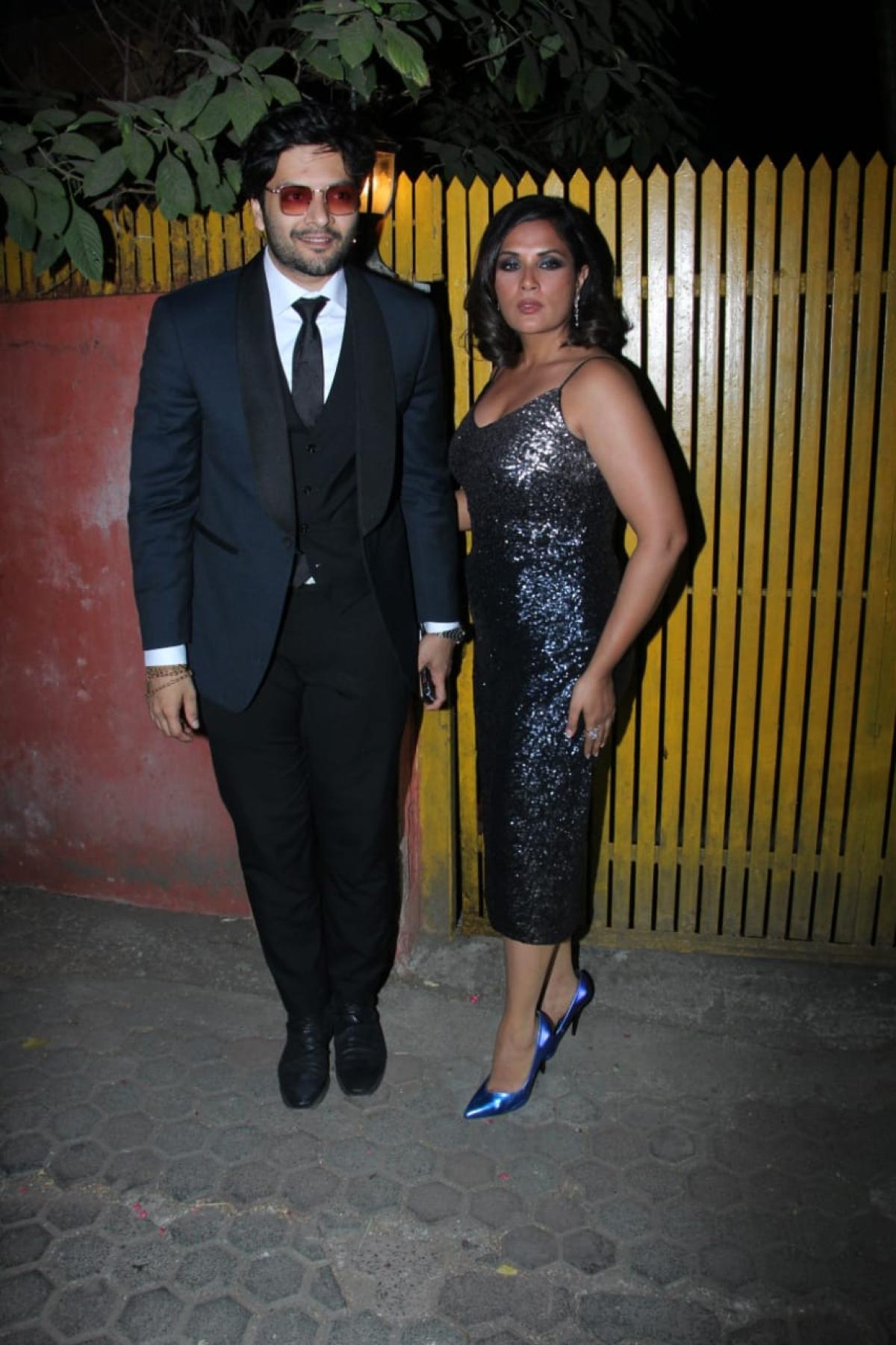 Ali Fazal and Richa Chaddha