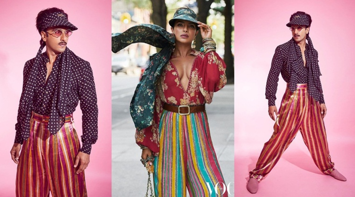 Bajirao vs Kashibai: Ranveer Singh or Priyanka Chopra who wore CLxSabyasachi's striped pants better?