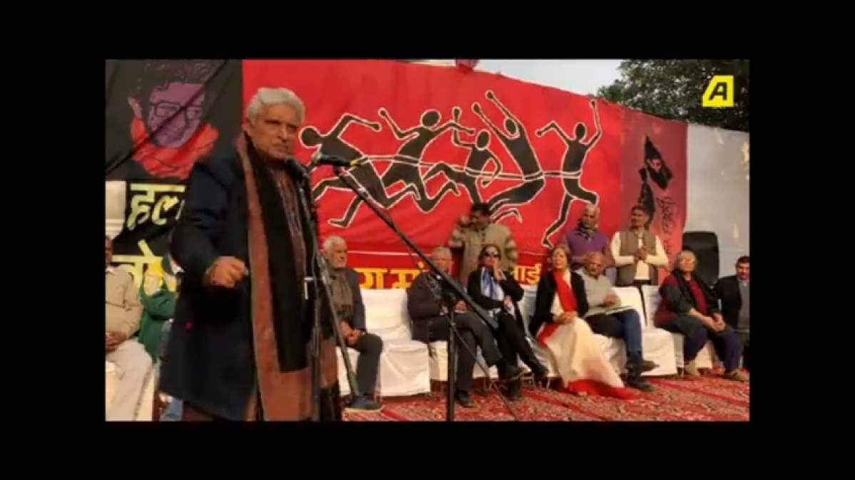 'Even if your kid dies, be proud you're a Hindu': Javed Akhtar slams Hindutva at CAA-NRC protest
