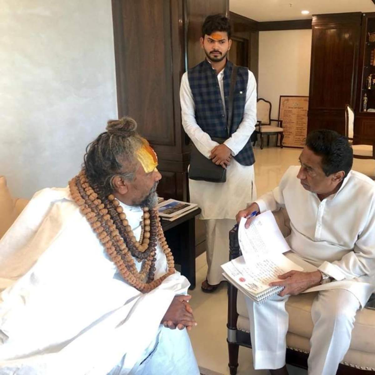 IIFA in Indore is a good move: Computer Baba backs Kamal Nath's decision