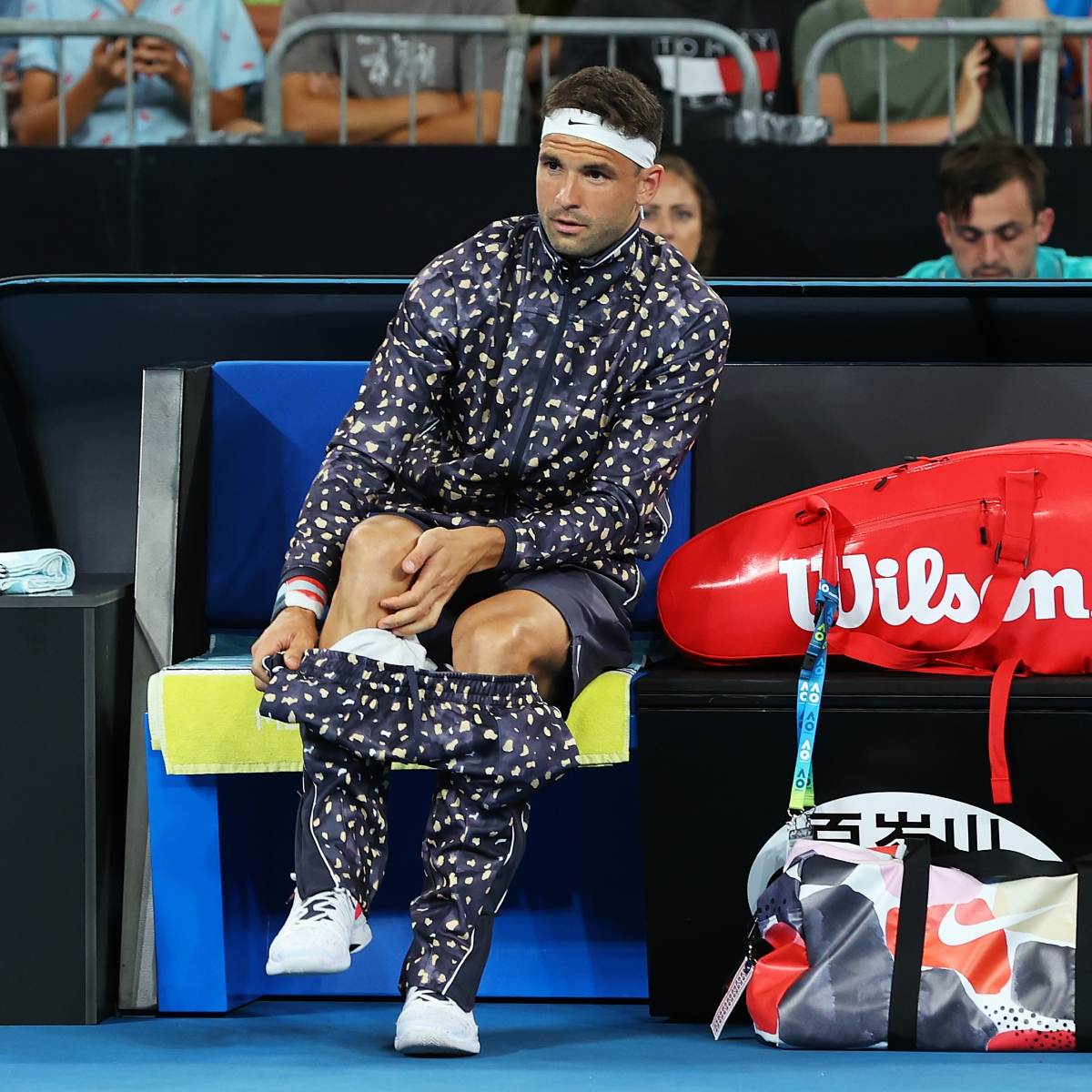 'Does he come from the bedroom?': Twitterati troll Grigor Dimitrov for wearing weird outfit at Australia Open