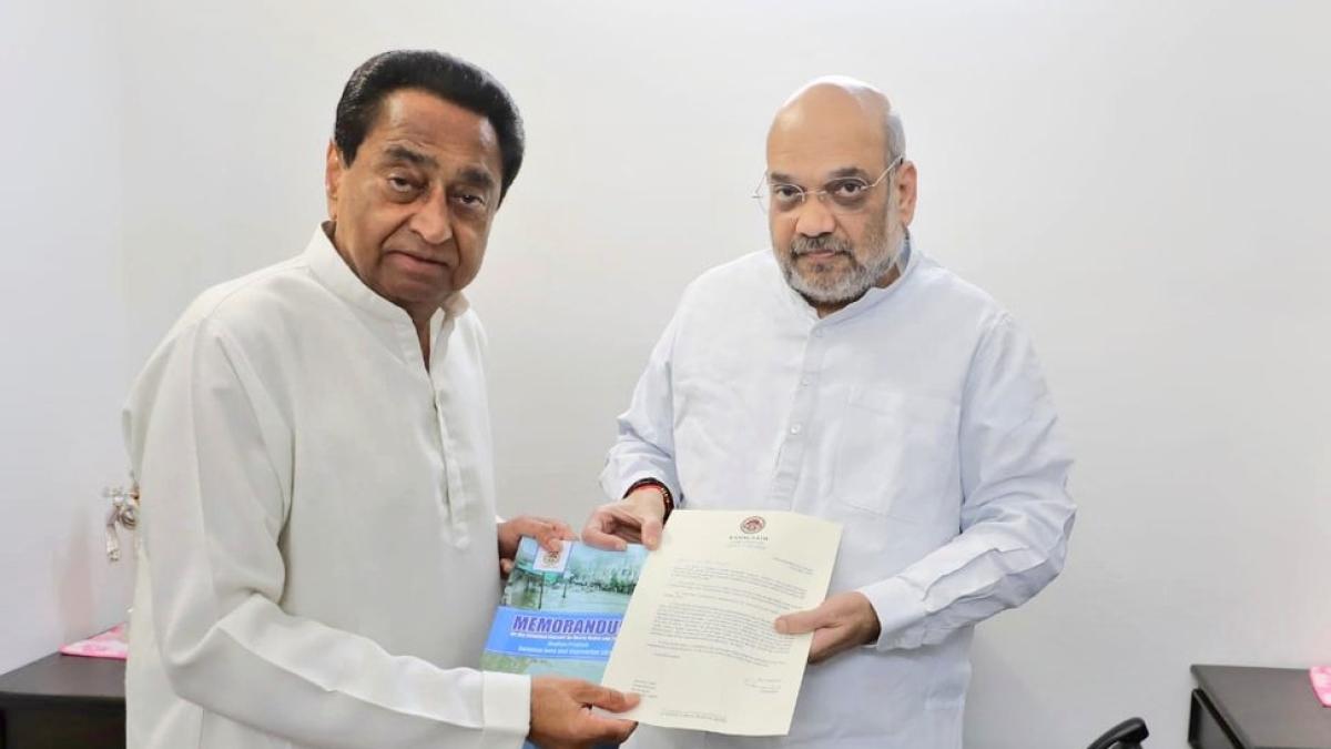 Kamal Nath and Amit Shah